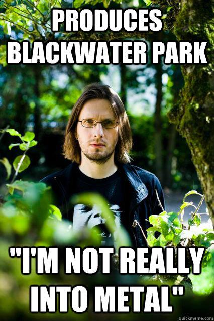 Produces Blackwater Park