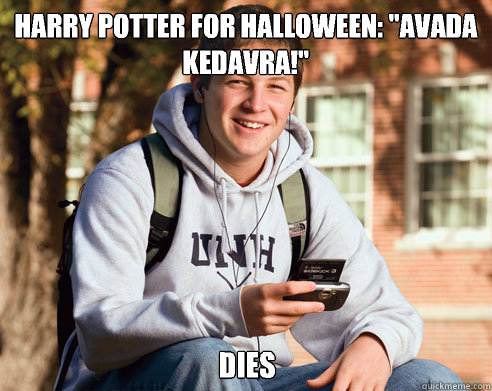 Harry Potter for Halloween: