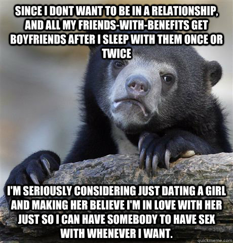 Girl just wants to be friends after dating
