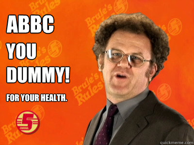 ABBC You dummy! For your health. - ABBC You dummy! For your health.  Misc