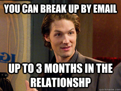 Break up after 2 months dating