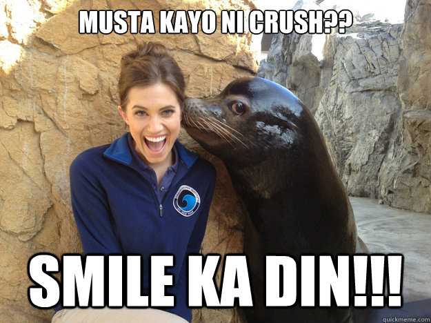 musta kayo ni crush?? smile ka din!!! - musta kayo ni crush?? smile ka din!!!  Crazy Secret
