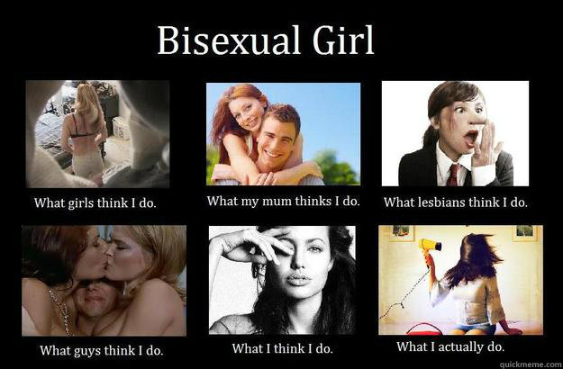 Bisexual problems funny