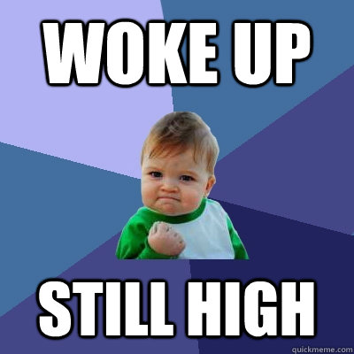 WOKE UP STILL HIGH - WOKE UP STILL HIGH  Success Kid