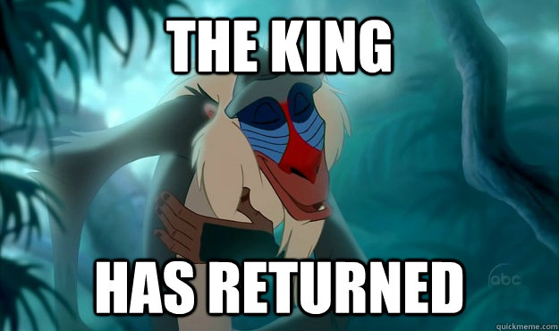 The King has returned - The King has returned  Misc