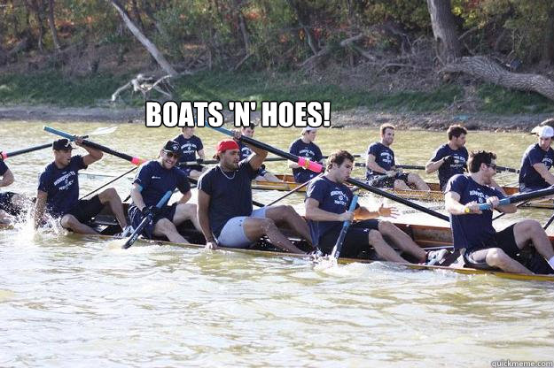 Boats 'n' Hoes!  - Boats 'n' Hoes!   Winnipeg Jets rowing