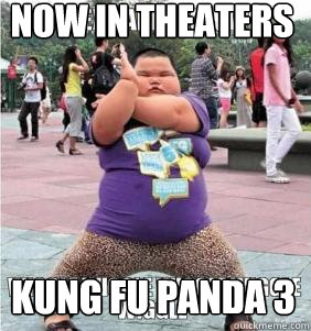 Now in theaters Kung Fu panda 3  SEXY