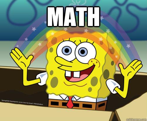 Image result for spongebob math memes