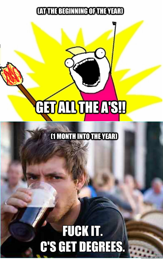 at the beginning of the year get all the a s 1 month into the