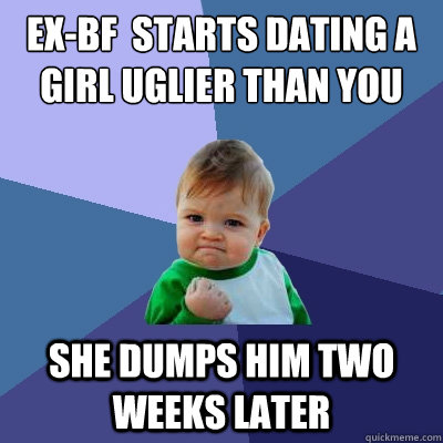 Dating a girl uglier than you