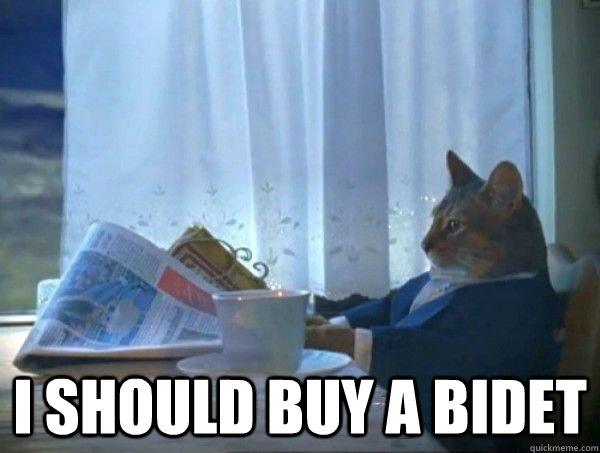 I Should Buy A Bidet Misc Quickmeme