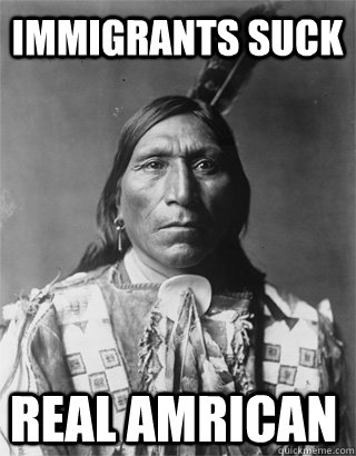 Native americans suck