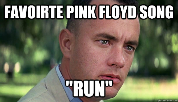 favoirte pink floyd song