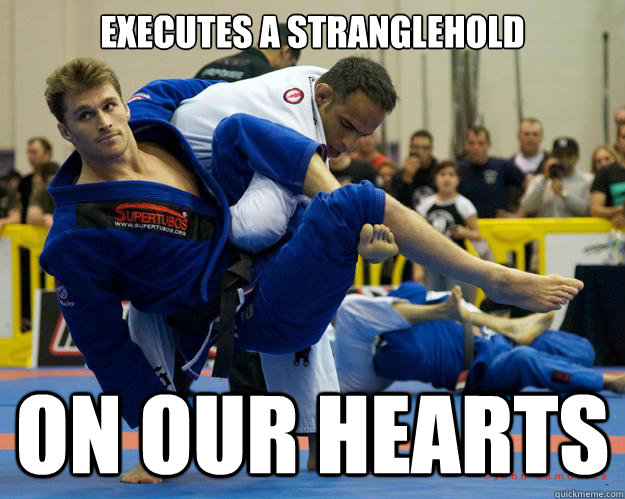 Executes a Stranglehold On our hearts - Executes a Stranglehold On our hearts  Ridiculously Photogenic Jiu Jitsu Guy