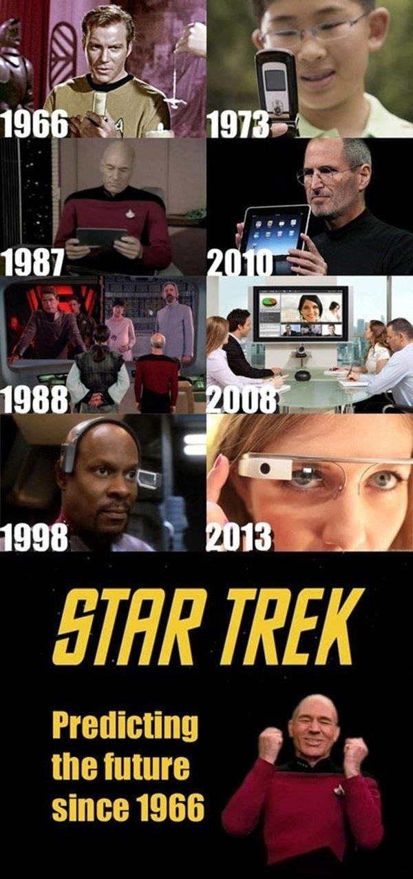 Star Trek Has Been Predicting The Future All This Time -   Misc