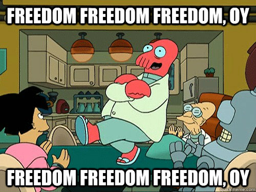 Freedom Freedom freedom, OY Freedom Freedom freedom, OY - Freedom Freedom freedom, OY Freedom Freedom freedom, OY  Misc