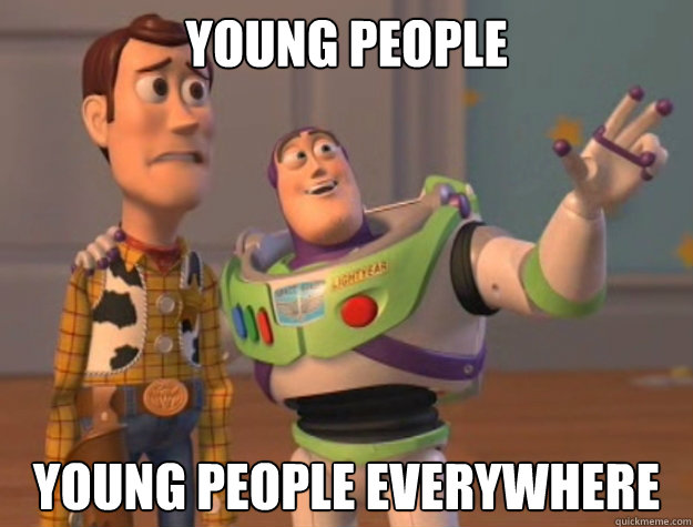 YOUNG people YOUNG PEOPLE EVERYWHERE - YOUNG people YOUNG PEOPLE EVERYWHERE  Buzz Lightyear