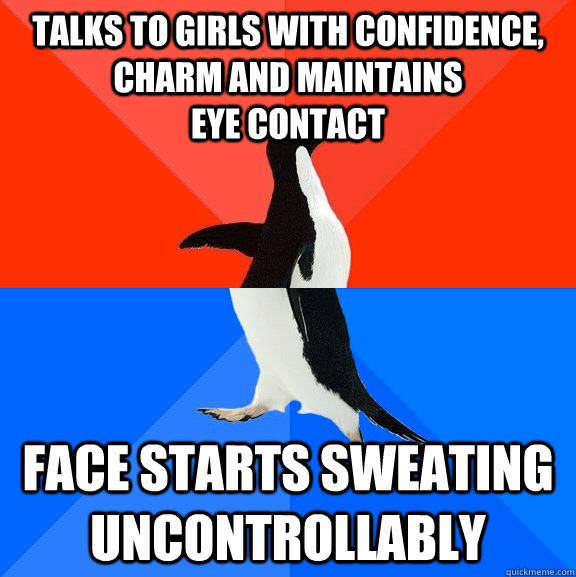 eye contact confidence