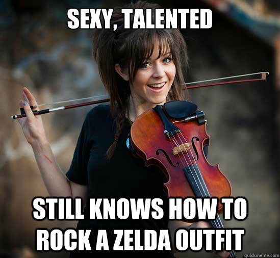 SEXY, TALENTED STILL KNOWS HOW TO ROCK A ZELDA OUTFIT