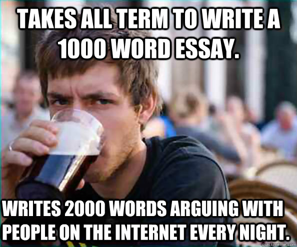 How long does it take to write 2000 word essay?