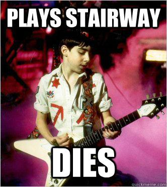 Plays Stairway Dies  School of Rock Freshman