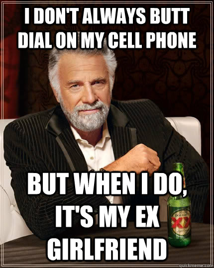Speaking, recommend ex gf cell phone