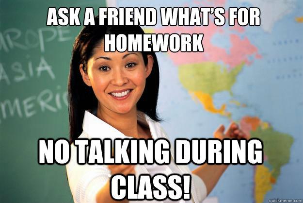 Ask homework