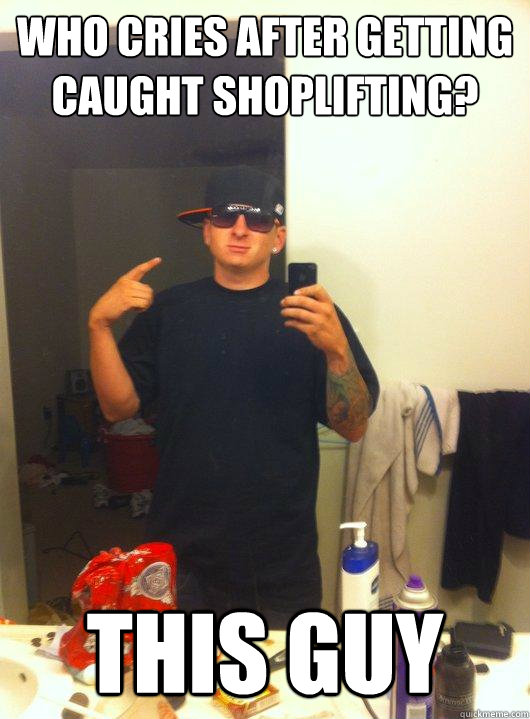 being caught shoplifting Being caught shoplifting is one of the most frightening things that can happen to the average person the embarrassment alone will be devastating, but handcuffs, jail and court are no fun.