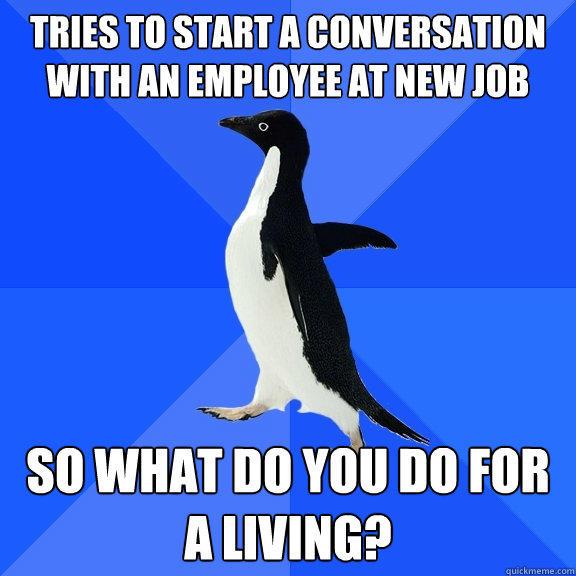 Socially Awkward Penguin Memes Quickmeme