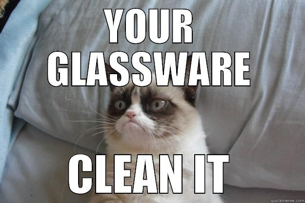 Funny Memes Clean Cats : Clean glassware quickmeme