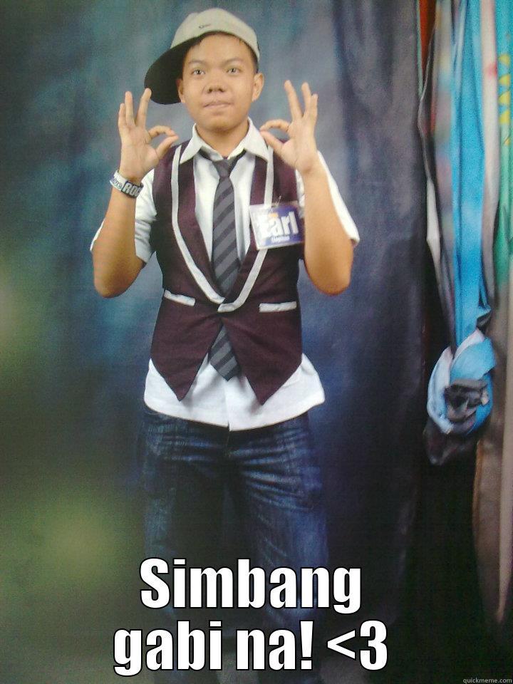 Earl is heart heart! -  SIMBANG GABI NA! <3 Misc
