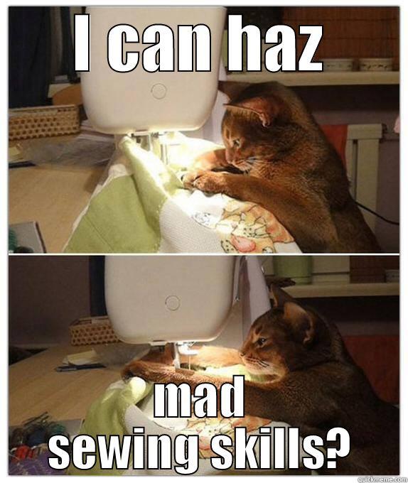 Sewing Cat Quickmeme
