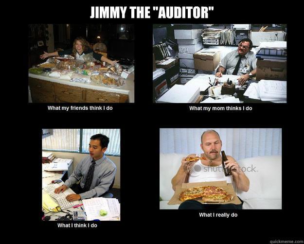 jimmy the  u0026quot auditor u0026quot  - misc