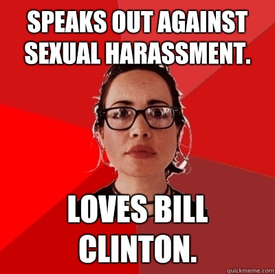 Sexual harassment by clinton