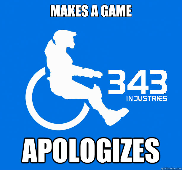 makes a game Apologizes
