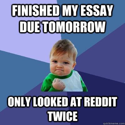 Finished Essays