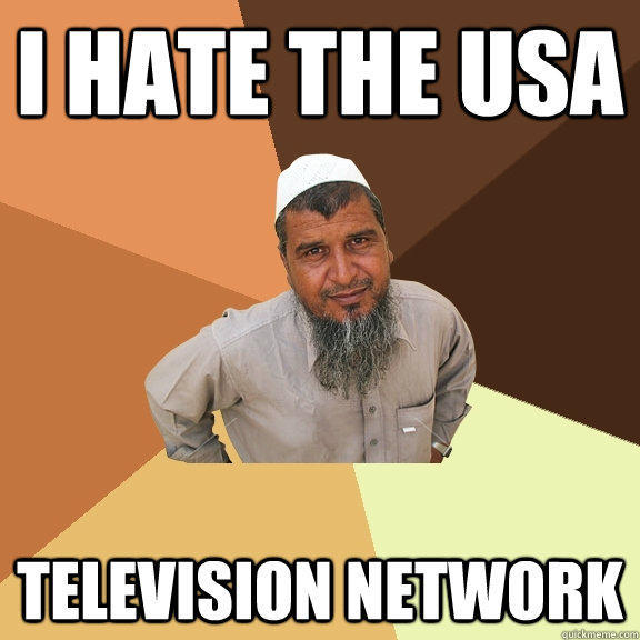 I HATE THE USA television network - I HATE THE USA television network  Ordinary Muslim Man