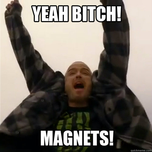 -    Yeah Bitch! Magnets!