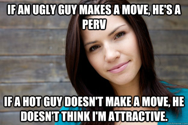"""he is dating an ugly girl How do average-looking (or ugly) guys pick up ugly girl, or ugly guy/ugly thinks if they be saying to the hot girl """"you're dating an 'ugly' boy girl."""