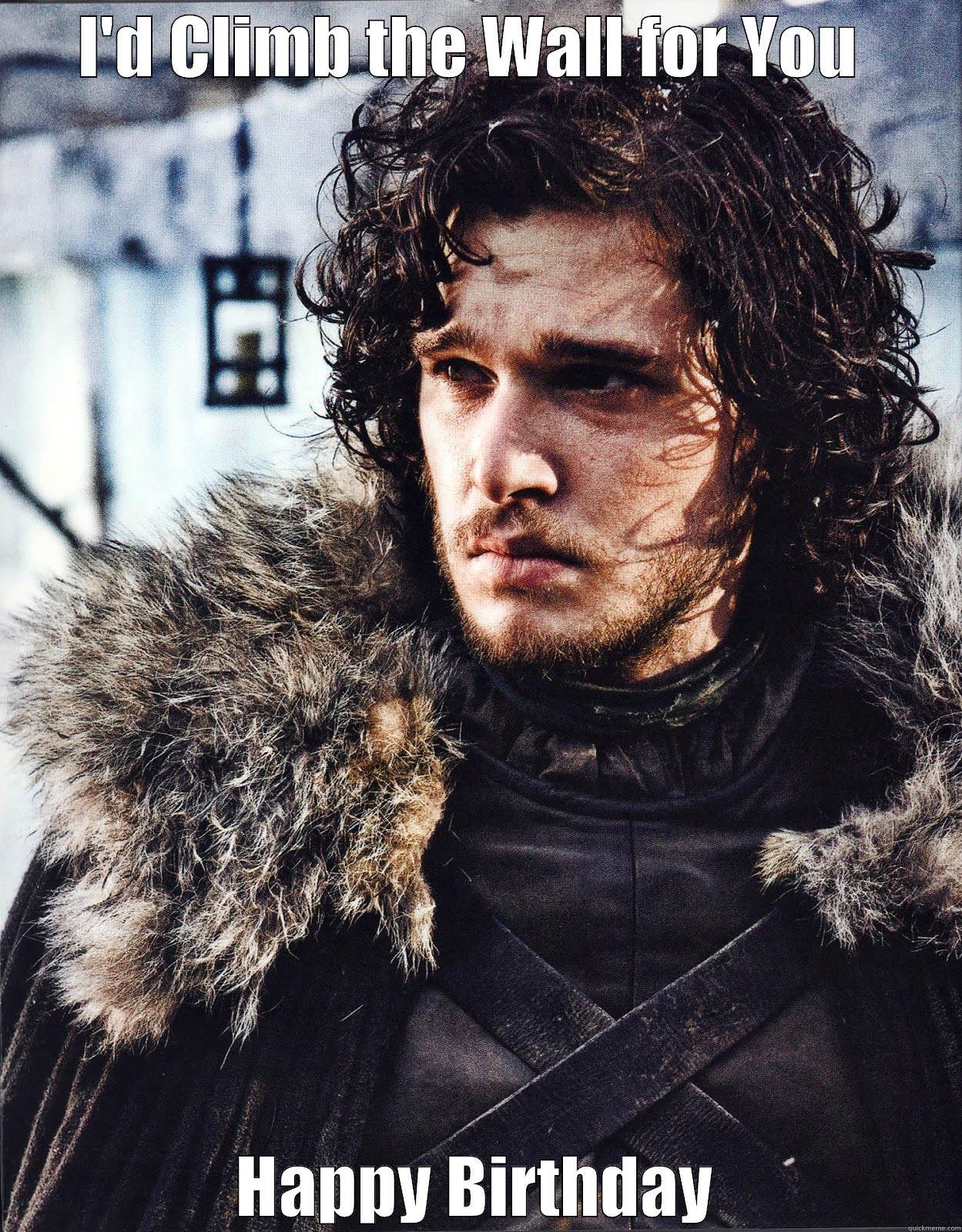 Funny Happy Birthday Meme Game Of Thrones : Suave jon snow quickmeme