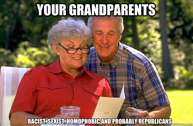 how to deal with racist grandparents