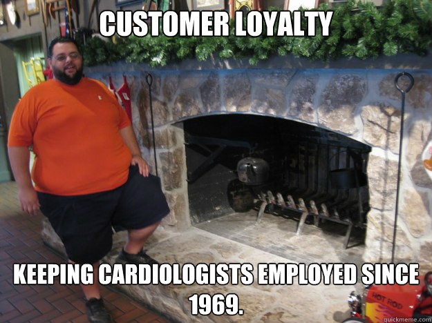 Customer Loyalty Keeping cardiologists employed since 1969.  Customer Loyalty