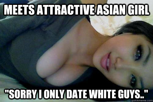 Guys dating asian girls but