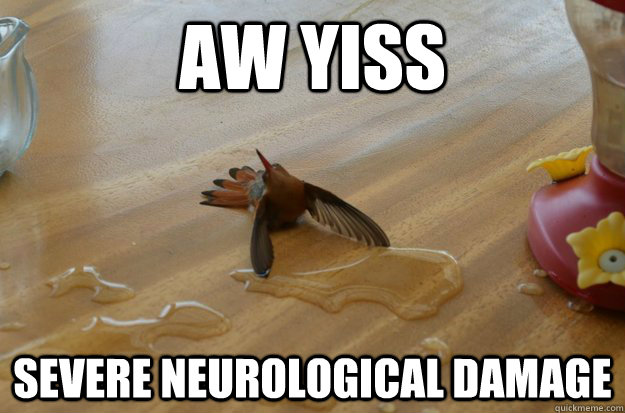 AW YISS SEVERE NEUROLOGICAL DAMAGE