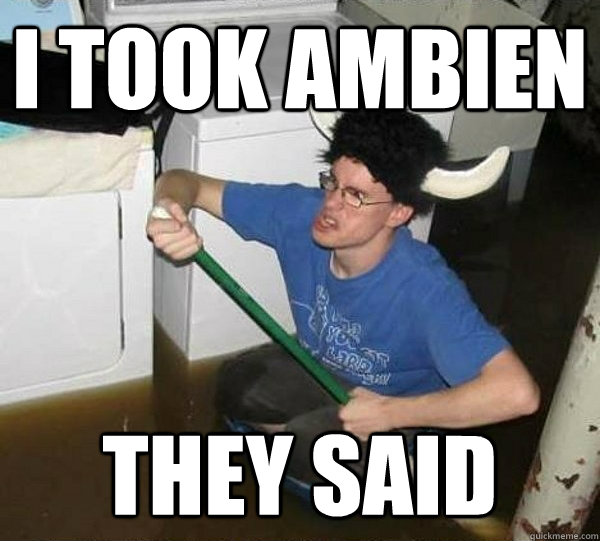 ambien side effects memory