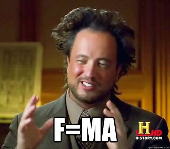 F=ma -  F=ma  Ancient Aliens