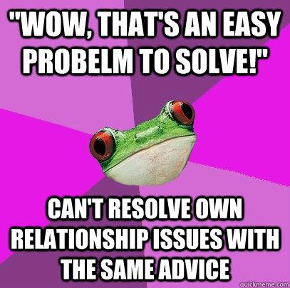 resolving relationship dilemmas