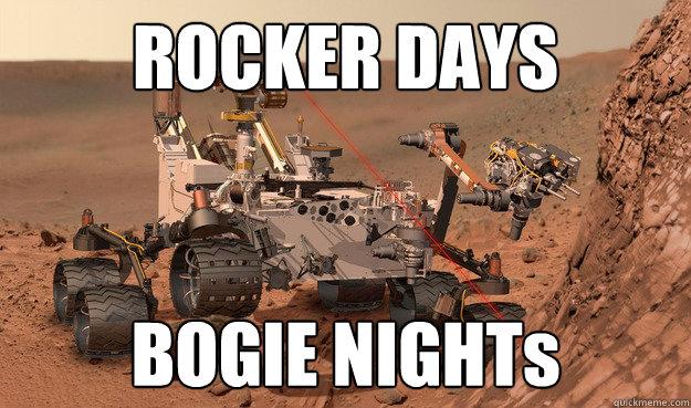 ROCKER DAYS BOGIE NIGHTs