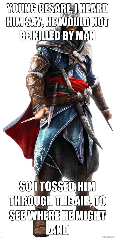 Assassins Creed Ezio Memes Quickmeme