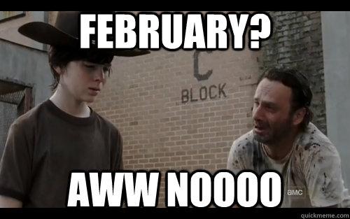 Walking Dead Mid Season Finale Memes Walking Dead Season 4 Finale